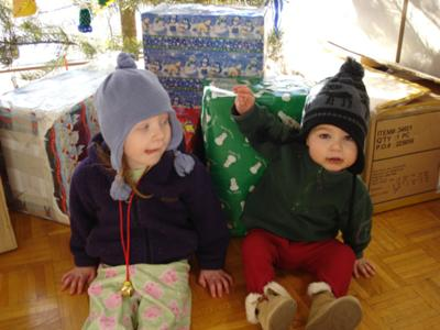 <FONT COLOR=#990033><h3><B>My beautiful kids Alivia and Noah</b></h3></font>